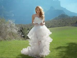 Vestido de novia de shakira